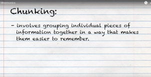 mnemonics-chunking